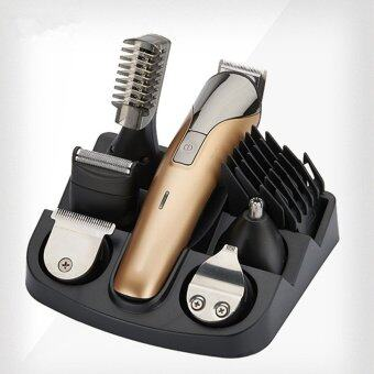 Harga NIKAI 6 In1 Rechargeable Hair cutting machine hair clipper Hair trimmer the beard trimmer machine for trimming barber haircut machine - intl