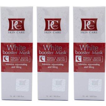 Harga Pcare skincare White Boosber Mask Night Serum x 3