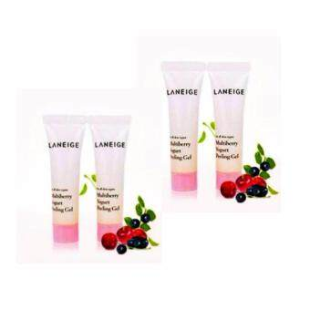Harga Laneige Multiberry Yogurt Peeling Gel (10 ml) 4 หลอด