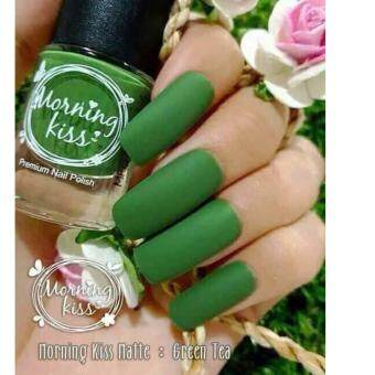 Harga Morning kiss Matte Green Tea M71 (สีชาเขียว)