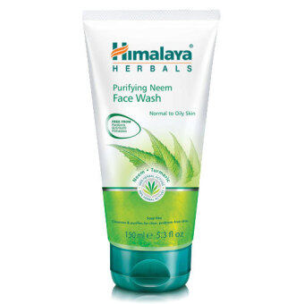Harga Himalaya Herbals Purifying Neem Face Wash 150ml