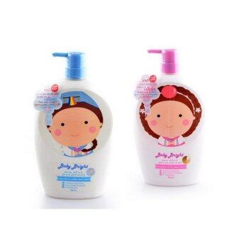 Harga karmart Baby Bright Gluta-Thione and Vit C Body Lotion 750ml. 1 ขวด + Baby Bright Goat milk & Collagen Baby Lotion 750 ml.1 ขวด
