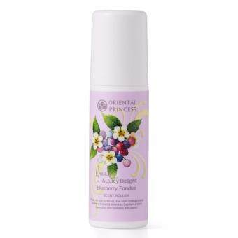Harga Oriental Princess โรลออน Fresh & Juicy Delight Blueberry Fondue Scent Roller
