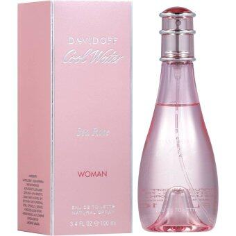 Harga Davidoff Cool Water Sea Rose 100 ml.พร้อมกล่อง