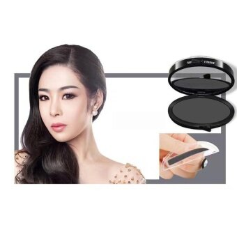 Harga Lazy Makeup Eyebrow Powder Brow Stamp Fashion Unique High Quality Brow Powder Makeup - intl