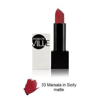 Harga Passion Ville, Flashy Lipcolour Attractions, 3.5g. #33 Marsala in Sicily