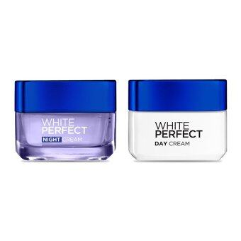 Harga L'Oreal Paris DEX WP DAY CRE SPF17 PA++ 50ML + DEX WP NIGHT CREAM 50ML