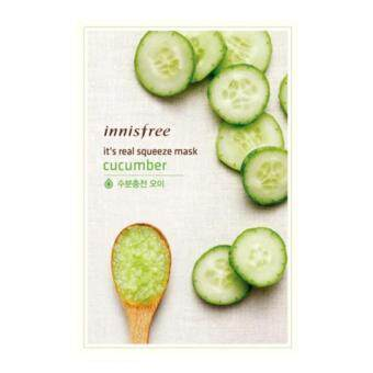 Innisfree It's Real Squeeze Mask Cucumber (3แผ่น)