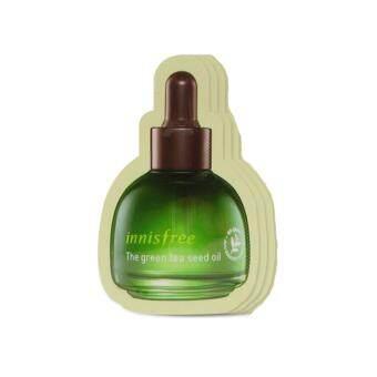Innisfree The Green Tea Seed Oil 0.5 ml. Tester น้ำมันบำรุงผิว 3 ซอง