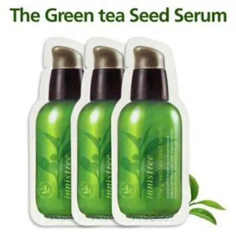 Innisfree The Green Tea Seed Serum 1 ml. (ขนาดทดลอง 3 ชิ้น)