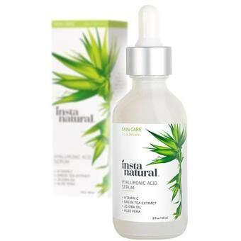 InstaNatural Vitamin C Serum with Hyaluronic Acid + Ferulic Acid 1oz (30 ml)