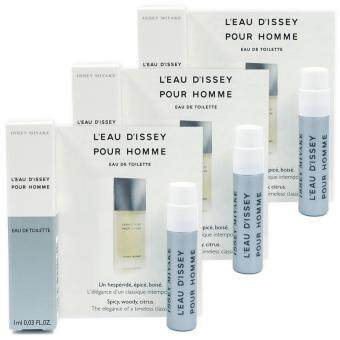 Issey Miyake L'Eau D'Issey Pour Homme EDT 1 ml. (3 ชิ้น)