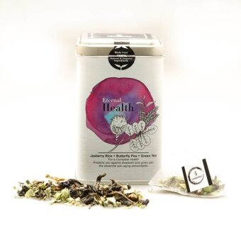 Jasberry ชา ออร์แกนิค Eternal Health Jasberry Organic Tea - Purple