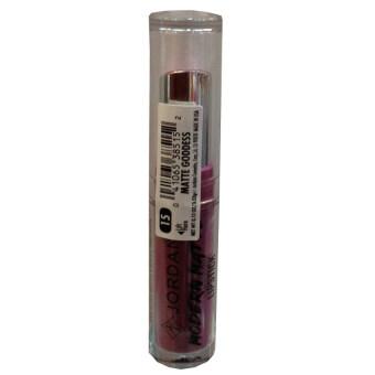 Jordana Modern Matte Lipstick 3.5kg ลิปสติกสีสวยคุณภาพดี ในรูปแบบเนื้อครีมเนียนนุ่ม #15 matte goddess