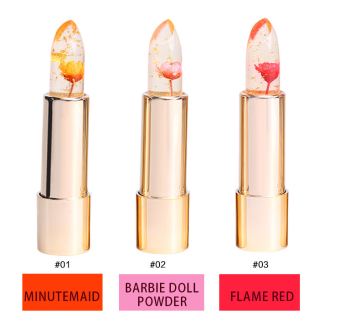 Harga Kailijumei Flower Jelly Lip Gold - Frame Red