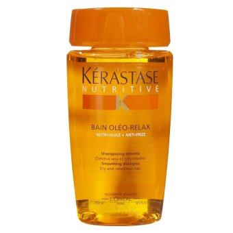 Kerastase Nutritive Bain Oleo-Relax Smoothing Shampoo Dry and Rebellious Hair 8.5 oz./250 ml.