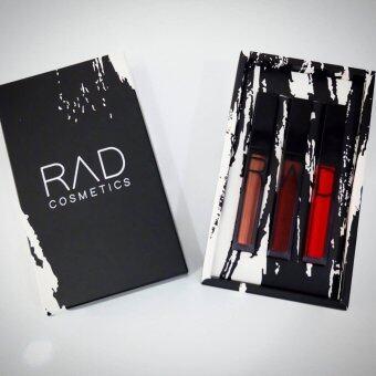 ของแท้ ลิปน้ำชา RAD Cosmetics เซต RAD Super Red Lover Set