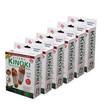 ขาย Kinoki Detox Foot Pad แผ่นแปะเท้าดูดสารพิษ ล้างสารพิษ 6 กล่อง