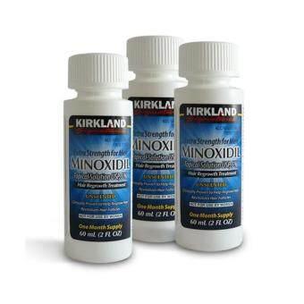 เซรั่มปลูกผม ปลูกหนวด Kirkland Minoxidil 5% ชนิดน้ำ 3 ขวด