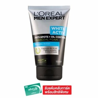L'Oreal Paris Men Wa Oil Ctrl Charcoal Foam 100ml