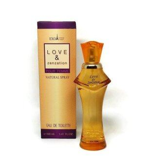 Harga Love & Zenzation - EXO SHIRLEY PARIS EDT 100ML