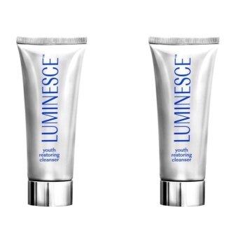 Luminesce Youth restoring cleanser จำนวน 2 หลอด