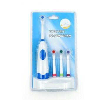 ประกาศขาย LUXX ชุดแปรงสีฟันไฟฟ้าพร้อมแท่นวางและหัวเปลี่ยน 3 หัว