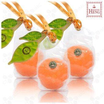 รีวิวพันทิป Madame Heng สบู่ส้มมาดามเฮง สูตรต้นตำรับวิตามินซี (Orange NaturalSoap Original Formula Vitamin C of Madame Heng) ขนาด 120 กรัม จำนวน3 ก้อน