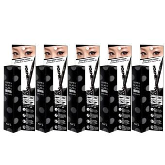 Malissa kiss Super Black Ultra HD Eyeliner อายไลเนอร์คิส (5 แท่ง)