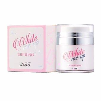Harga Malissa K.I.S.S White Me Up Sleeping Pack 15 ml.