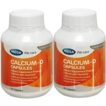 Harga Mega We Care CALCIUM-D 60������������������(2���������)������������������������