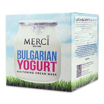 Merci Bulgarian Yogurt Whitening Cream Mask (30g.)