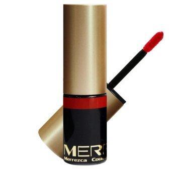 รีวิวพันทิป Merrez'ca Couleur de lonue dur'ee tints #Rose Red ลิปทิ้นท์เมอร์เรซกา Merrezca