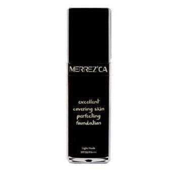 Merrez'ca Excellent Covering Skin Perfecting Foundation SPF 50 / PA+++ #23 Soft Beige รองพื้นกันน้ำ สำหรับผิวสองสี