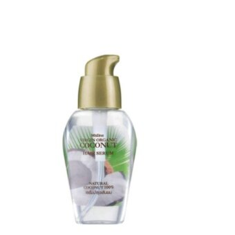 mistine virgin organic coconut hair serum เซรั่มบำรุงเส้นผม อุดมด้วยคุณค่าการบำรุงจาก น้ำมันมะพร้าว บริสุทธิ์ 100% 1 ชิ้น