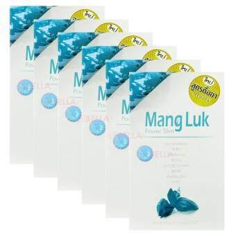 ML สมุนไพรแมงลักลดน้ำหนัก สูตรดื้อยา (สีฟ้า) 6 กล่อง