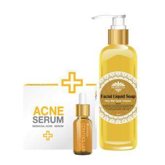 Harga Monicga Beauty Acne Serum + Monicga Liquid Soap