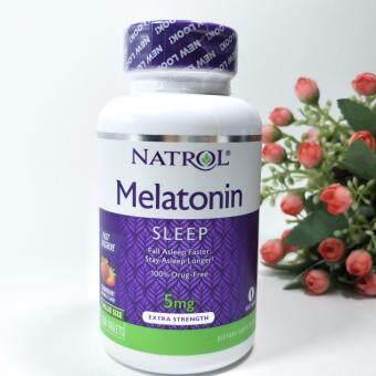 Natrol Melatonin Fast Dissolve Strawberry5 mg 150 Tablets