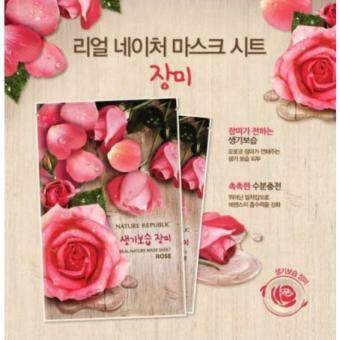 Harga Nature Republic Real Nature Mask Rose