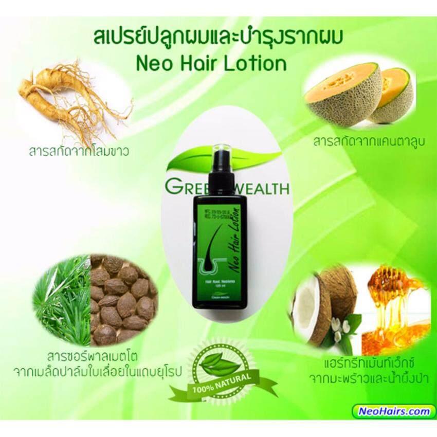 Neo Hair Lotion นีโอแฮร์ ผลิตภัณฑ์สเปรย์ปลูกผมและบำรุงรากผม 120 ml.(1ขวด)