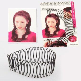 New Professional Hair Styling Tool Curve Clip Pin Invisible BangFringe (Black)