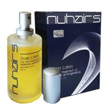 Nuhairs Minoxidil 5% นูแฮร์ ทรีทเมนต์ปลูกผม เซรั่มปลูกผม 60 ml