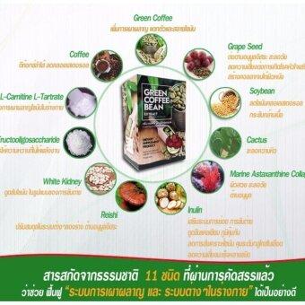 Nutritious green coffee bean