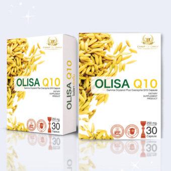 OLISA Q10 โอลิซา คิว10 อาหารเสริมช่วยการนอนหลับจากจมูกข้าว (30แคปซูล)