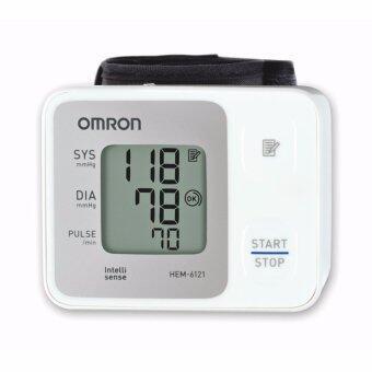จัดโปรโมชั่น Omron เครื่องวัดความดันโลหิตข้อมือ HEM-6121
