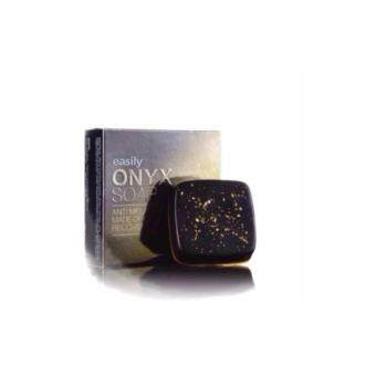 Onyx Soap (สบู่โอนิกซ์) สบู่หน้าใส ไร้สิว ฝ้า กระ จุดด่างดำ 70 g.