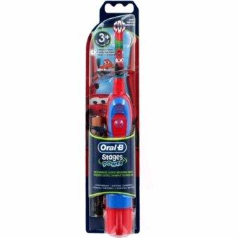 แปรงสีฟันแบตเตอรี่ Oral-B รุ่น Advance Power Kids ลาย Cars