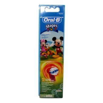 อยากขาย Oral-B EB10-2K Disney Mickey Mouse Stages Power Kids Electric Toothbrush Replacement Heads