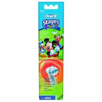 Oral-B หัวแปรงสีฟันไฟฟ้าสำหรับเด็ก ลายMickey mouse แพค 2 หัวแปรง