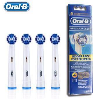 Oral-B หัวแปรงสีฟันไฟฟ้า รุ่น Precision clean แพค 4 หัวแปรง